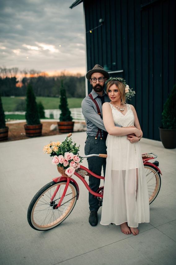 Hydrangea Blu Barn Styled Shoot Grand Rapids Wedding