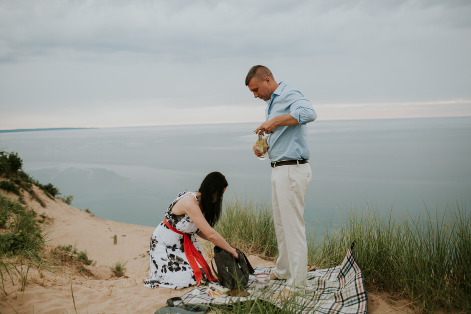 sleeping bear dunes engagement photography07