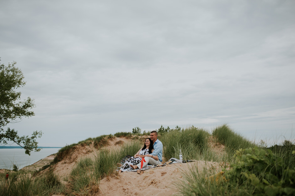 sleeping bear dunes engagement photography09