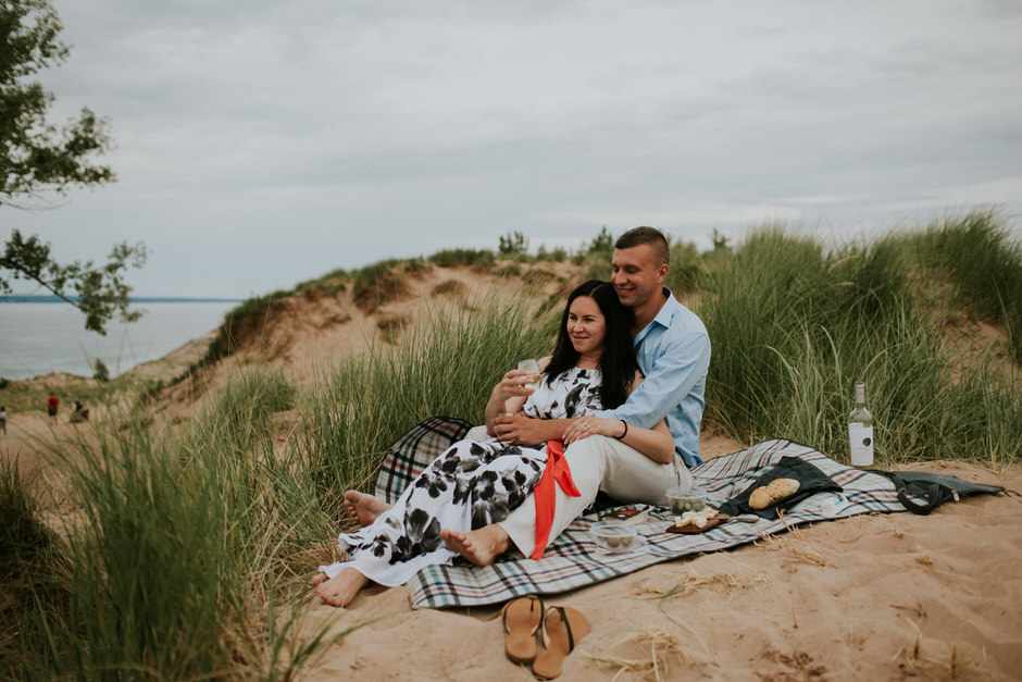 sleeping bear dunes engagement photography10