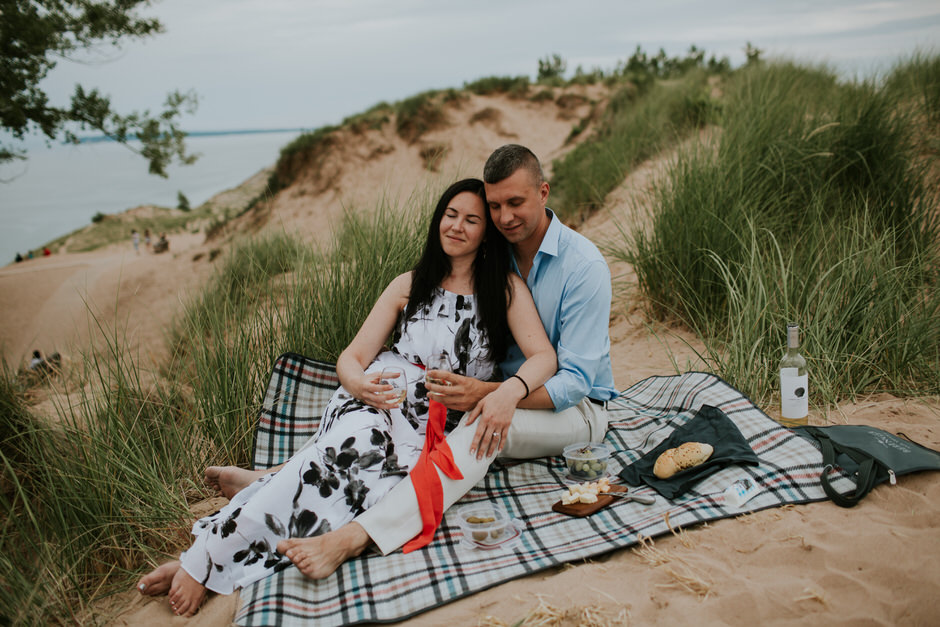 sleeping bear dunes engagement photography11