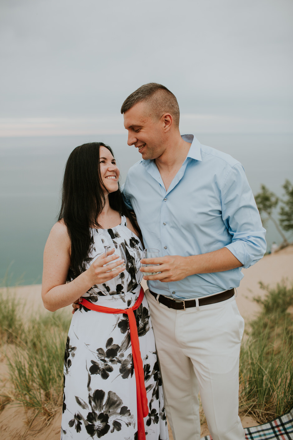 sleeping bear dunes engagement photography18