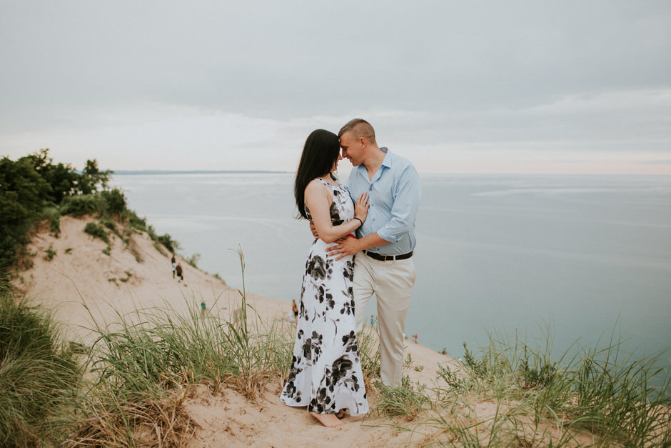 sleeping bear dunes engagement photography27