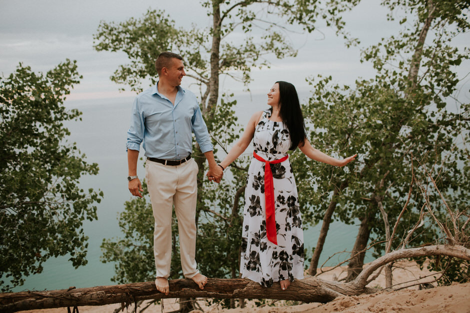 sleeping bear dunes engagement photography29