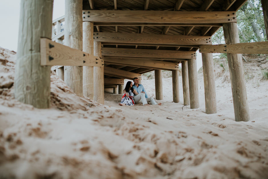 sleeping bear dunes engagement photography30