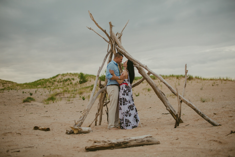 sleeping bear dunes engagement photography33