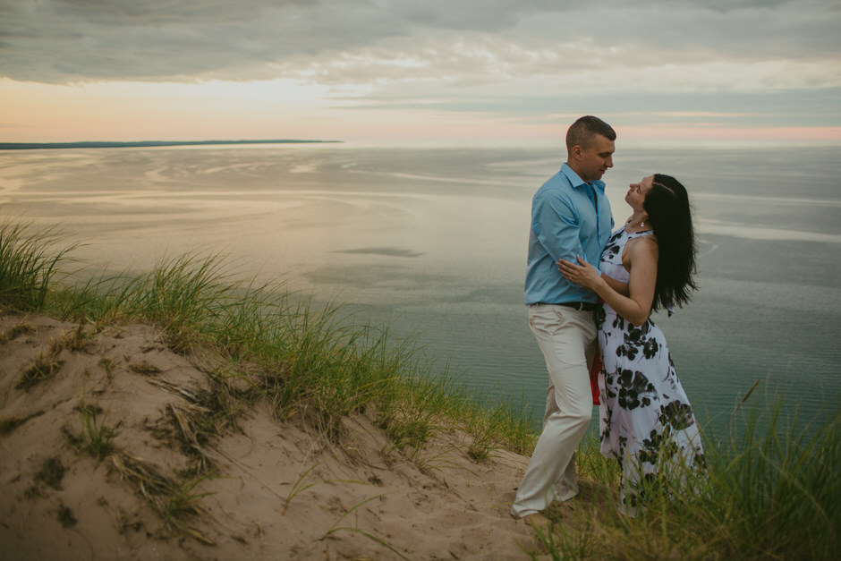 sleeping bear dunes engagement photography36