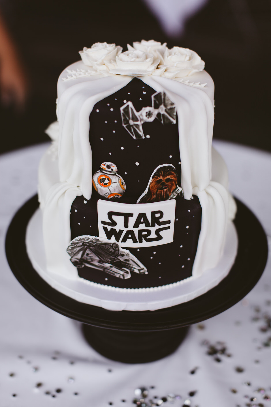 Star Wars Wedding Cake Grand Rapids