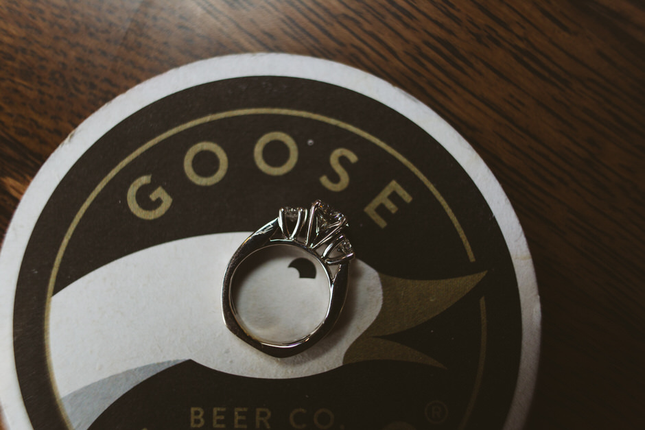 goose island chicago engagement
