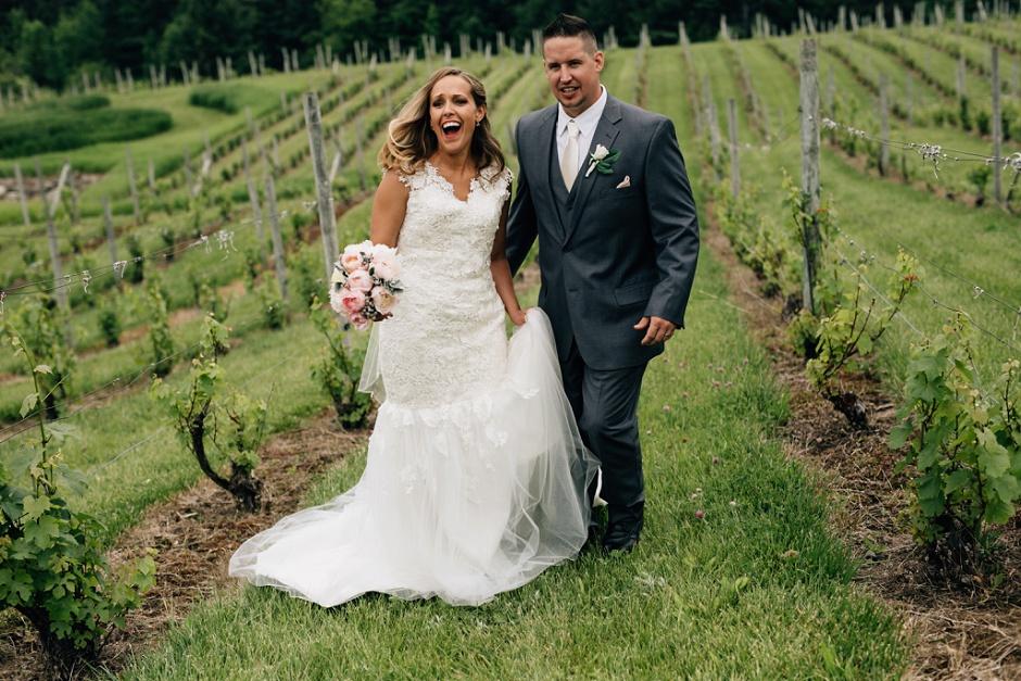 vineyard wedding traverse city wedding photographer