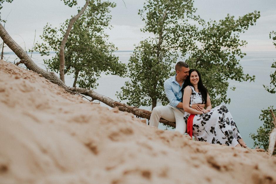 sleeping bear dunes engagement photography28
