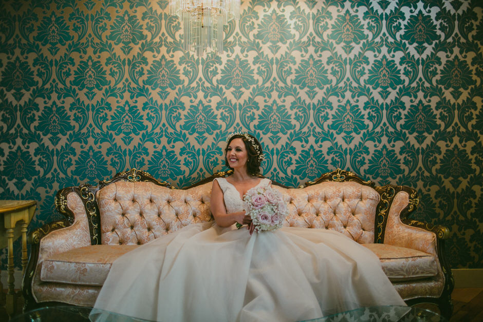 bride at cheney place