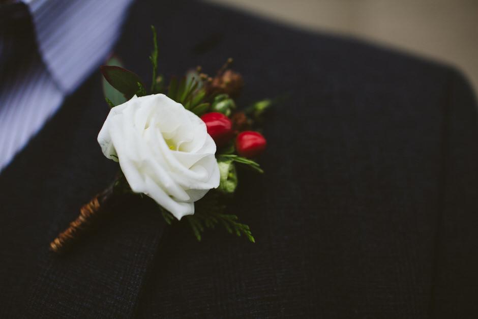 details winter wedding