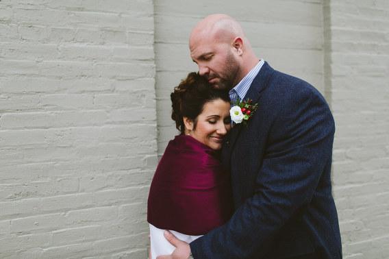 grand haven wedding hug
