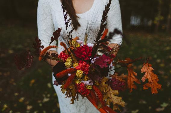 fall wedding bouquet ideas