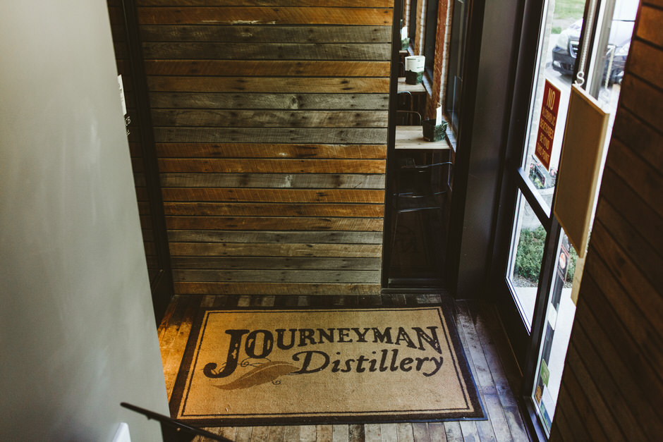 journeyman distillery entrance