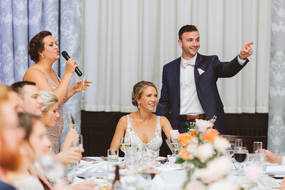the ballroom at mckay tower wedding
