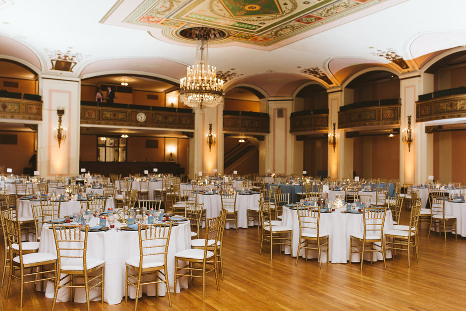 Detroit Masonic Temple Wedding | Amy + Justin » Rachel Kaye